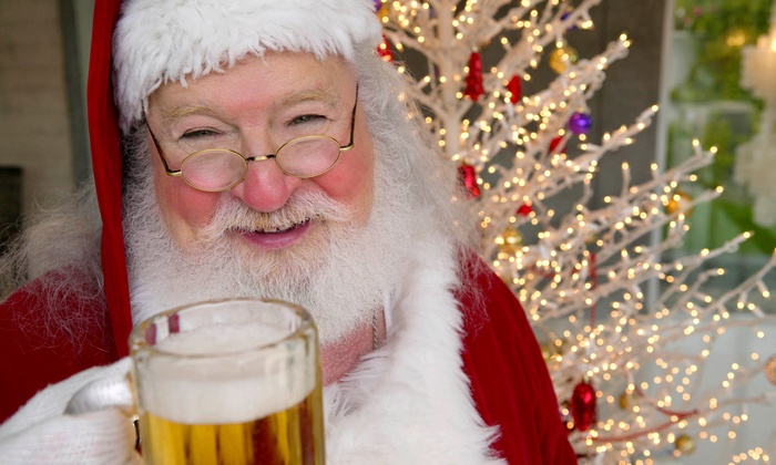Lazyday.com - First Ward: Santa Bar Crawl Admission for Two or Four from Lazyday.com on Saturday, December 14 (50% Off)