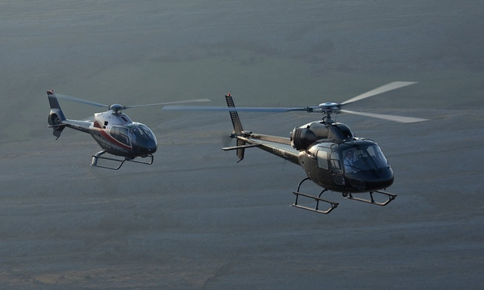 Helitours - Multiple Locations: Helicopter Experience with Optional Lunch or Glass of Prosecco,Two Locations with Helitours (Up to 64% Off*)