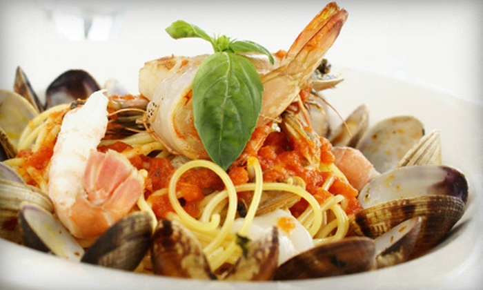 Granduca Di Sicilia - Midtown South Central: Two-Course Italian Dinner with Wine or Beer for Two or Four at Granduca Di Sicilia (Up to 60% Off)