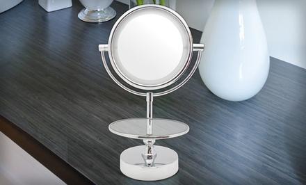 Chrome LED Mirror