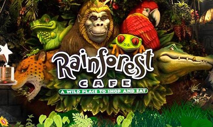 Rainforest Cafe Dubai Party Package