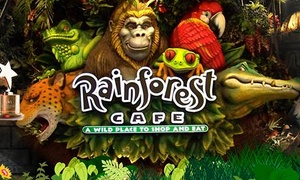 Rainforest Cafe: Two-Hour Party Package for Up to 10, 15, 20 or 25 Children at Rainforest Cafe (Up to 63% Off)