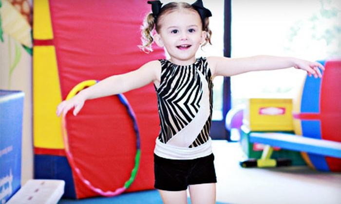 TumbleAmerica - Clovis: Four Parent-Child or Small-Group Kids' Tumbling Classes at TumbleAmerica (Up to 53% Off)