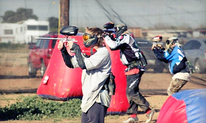 Wild West Paintball Park - Mesa: All-Day Package for Two, Four, or Eight at Wild West Paintball Park in Mesa (Up to 60% Off)