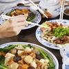 Asiatisches Mittagsbuffet
