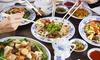 Asia World - Mainz: Asiatisches Mittagsbuffet inkl. Kaffee für 2 oder 4 Personen im Restaurant Asia World (bis zu 50% sparen*)