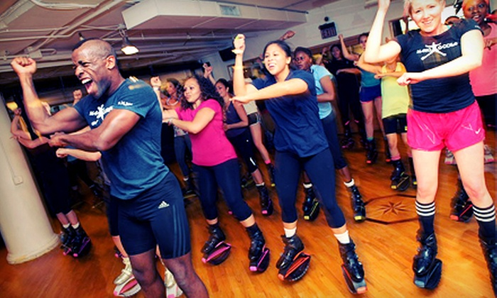 Mario Godiva Fitness - Multiple Locations: 5, 10, or 20 Plyo Dance, Plyo Athlete or Plyo Air Glide classes at Mario Godiva Fitness (Up to 75% Off)
