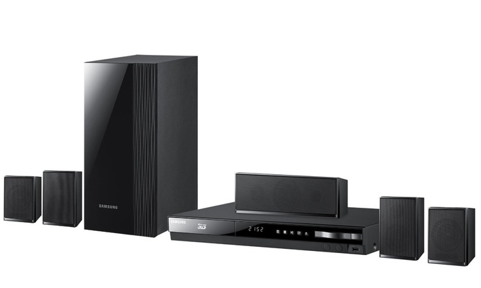 Samsung 51 Channel Home Theater System With Blu Ray Player And WiFi