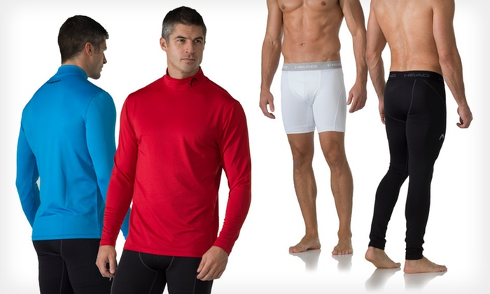 HEAD Men's Compression Wear: HEAD Compression Clothing (Up to 54% Off). Multiple Options Available. Free Shipping on Items Over $15. Free Returns.