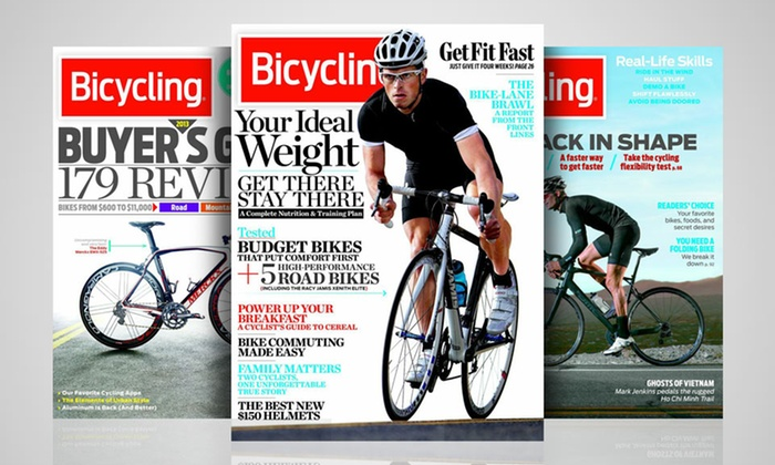 Bicycling Magazine Subscription: 1- or 2-Year Bicycling Magazine Subscription. Free Shipping.