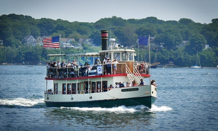 $28 for a Lighthouse Lovers or Sunset Lighthouse Cruise for Two from Portland Discovery ($48 Value)