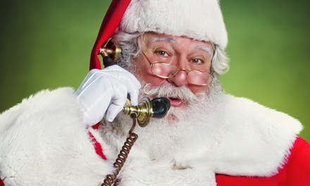 Personalized Postcard and Calls from Santa Claus from PackageFromSanta.com (Up to 67% Off). Five Options Available.