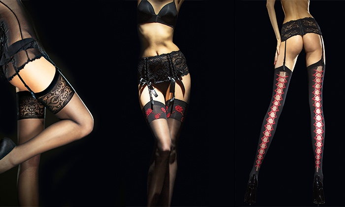 Bas Sexy Et Portejarretelles Groupon Shopping - Porte jarretelle sexy