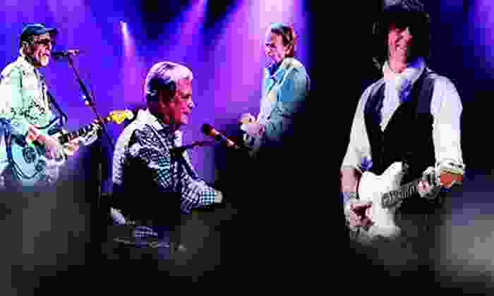 Brian Wilson & Jeff Beck - E.J. Thomas Hall, The University of Akron: Brian Wilson & Jeff Beck at E.J. Thomas Hall – The University of Akron on October 27 at 7:30 p.m. (Up to 55% Off)