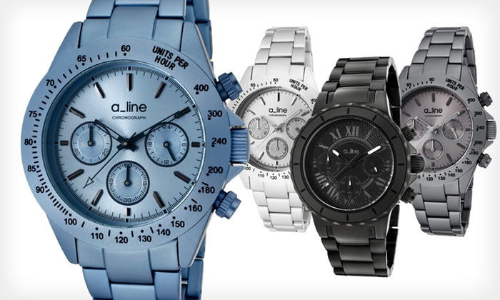 Women's A_line Watches: Women's A_line Watches (Up to 92% Off). Six Options Available. Free Shipping and Free Returns.