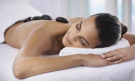 1 o 3 sesiones de masaje con piedras calientes desde 12,95 € en A punto para ti
