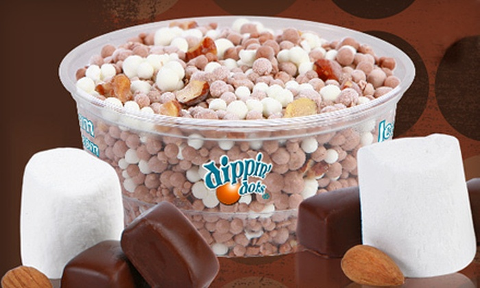 Dippin' Dots - Multiple Locations: $6 for $12 Worth of Frozen Treats at Dippin' Dots
