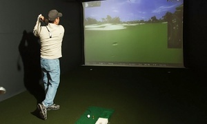 OptiGolf Troy: Two-Hour Virtual Golf Play Pass and Snacks and Drinks for Four or Eight at OptiGolf Troy (Up to 62% Off)