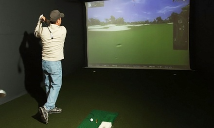 Two-Hour Virtual Golf Play Pass and Snacks and Drinks for Four or Eight at OptiGolf Troy (Up to 63% Off)