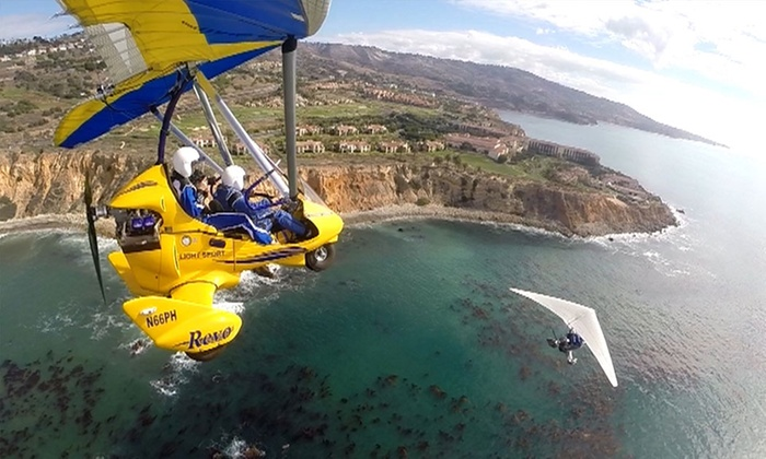 Pacific Blue Air - Hawthorne: $169 for a 45-Minute Open-Air Flight Experience from Pacific Blue Air ($270 Value)