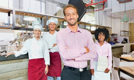 $29 for an Accredited Hotel & Catering Management Online Course from EventTrix ($199 Value)