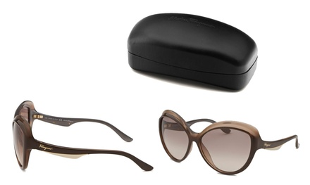 Ferragamo Women's Oversized Sunglasses
