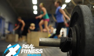 Real Fitness Sarasota Crossfit: Up to 75% Off 4 or 8 Weeks of CrossFit