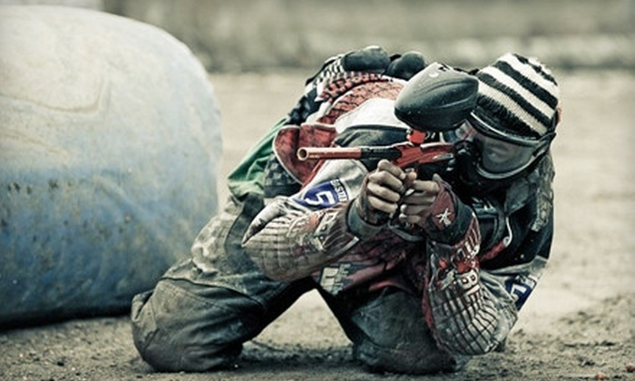 Dynamic Paintball - Aurora: Paintball Outing for Two, Four, or Eight With Equipment and 500 Paintballs Each at Dynamic Paintball (Up to 57% Off)