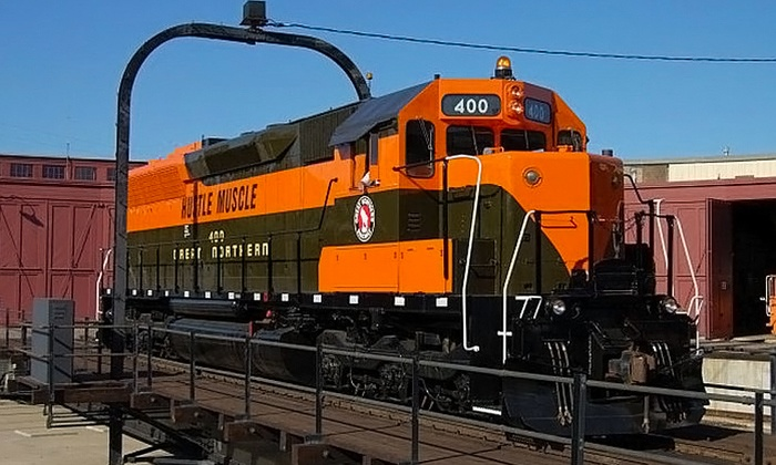 Minnesota Transportation Museum - Jackson Street Roundhouse : Visit for Four or Eight or Kids' Birthday Party for Up to 20 at Minnesota Transportation Museum (Up to 59% Off)