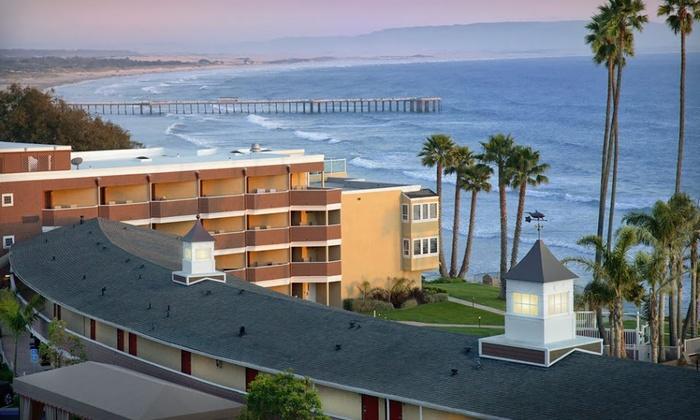 Chic Beachfront Hotel Along California Coast