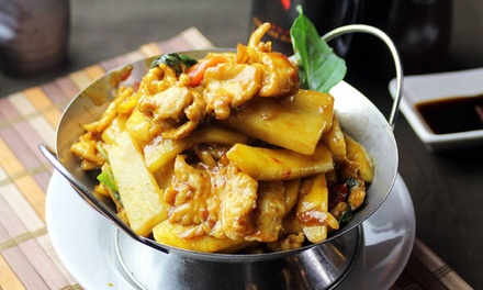 Pan-Asian Cuisine at Peninsula Asian Fusion (Up to 43% Off). Two Options Available.