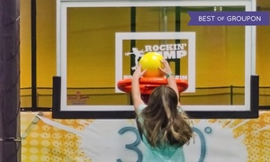 Rockin' Jump: Jump Time for Two, Four, or Six at Rockin' Jump (Up to 44% Off)