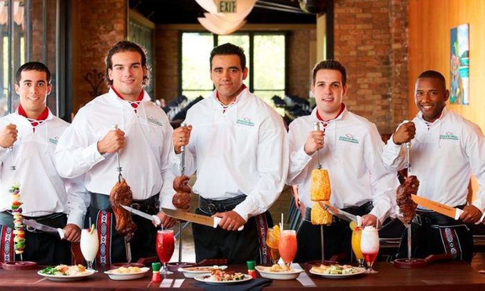 Rodizio Grill - Rodizio Grill: Full Rodizio Dinner for Two or Four with Brazilian Limeades and Dessert at Rodizio Grill (Up to 39% Off)