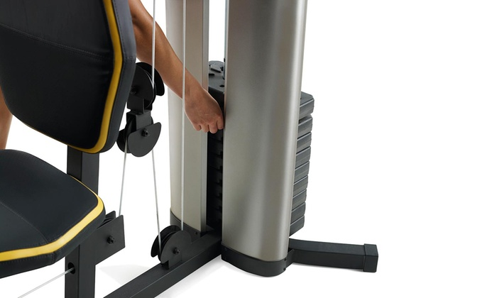 Up to off on xrs home gym system groupon goods