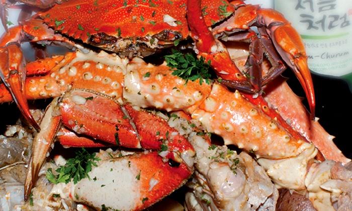 Crabaholic - Hayward: $12 for $20 Worth of Cajun Seafood and Drinks atCrabaholic in Hayward, CA