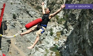 Bungee America: Bridge to Nowhere - All-Day Hike and Bungee Jumping Packages. (Up to 20% Off)