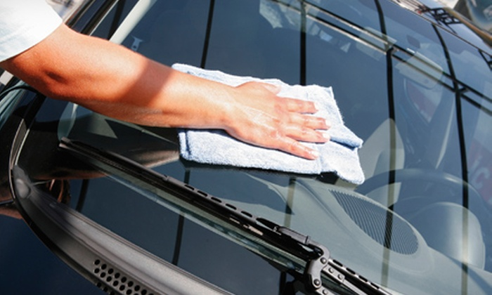 Sensha-Ya Hand Car Wash - City Centre: Carwash Package with Vinyl or Leather Detailing for One Car or SUV at Sensha-Ya Hand Car Wash (Half Off)