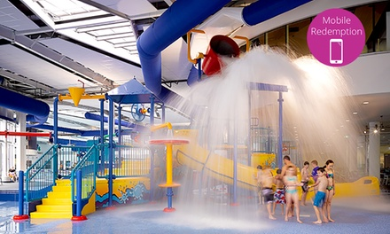 Swim and Water Slide Pass for Child $6.50, Adult $9 or Family of Four $26 at WaterMarc Up to $52 Value