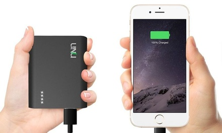 Unu Superpak 10,000mAh Battery Pack with MFI Apple-Certified Cable