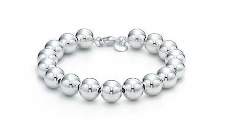 Solid Sterling Silver Italian Handmade Bead Bracelets