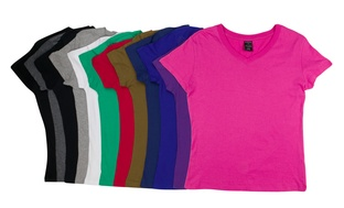12-Pk. Sociology Womens V-Neck T-Shirt