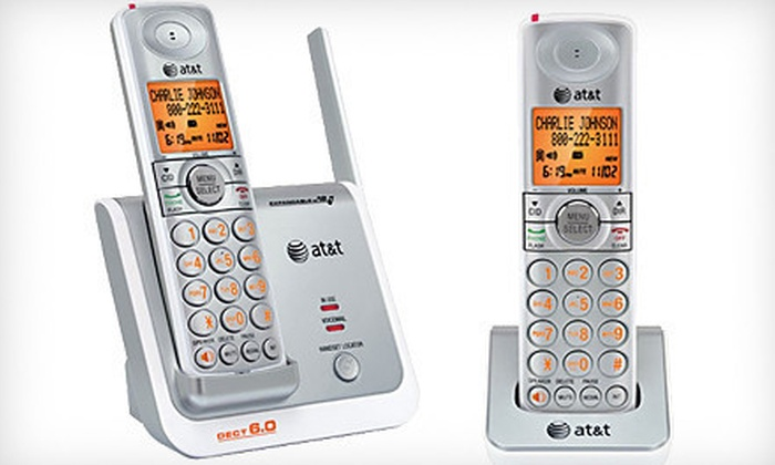 AT&T Cordless Phones: $35 for an AT&T Cordless Phone with Two Handsets ($49.95 List Price). Free Shipping.
