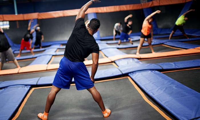 Sky Zone - Suwanee: $39 for 10 SkyFitness Classes at Sky Zone in Suwanee ($75 Value)
