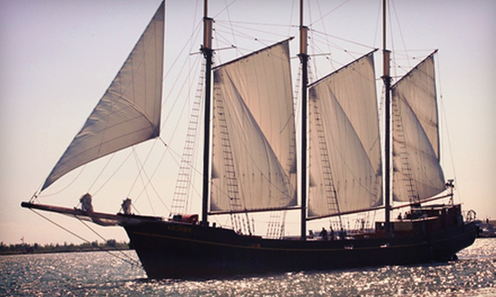 "Tall Ship Cruises Toronto - Toronto Kajama: $12 for a Two-Hour Sail on the Tall Ship ""Kajama"" from Tall Ship Cruises Toronto (Up to $24.80 Value)"
