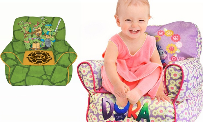 Toddler Sofa Character Beanbag Chairs ...  sc 1 st  Groupon & Toddler Sofa Character Beanbag Chairs | Groupon