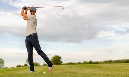 Round of Golf for Two or Four and Range Balls at Mary Calder Golf Club (Up to 40% Off). Four Options Available.