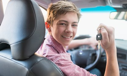 30- or 60-Minute Junior Driver Training Session with 1st Choice (Up to 20% Off)