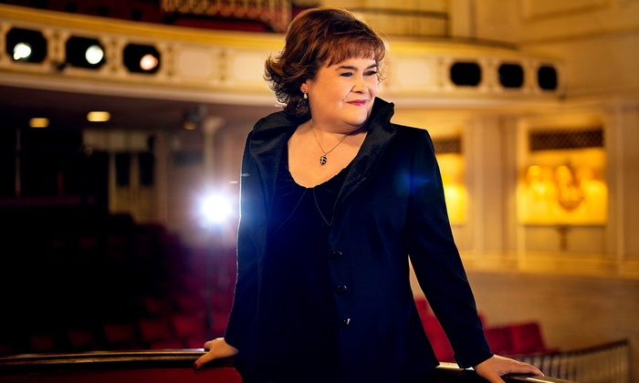 Susan Boyle - Segerstrom Center for the Arts: Susan Boyle at Segerstrom Center for the Arts on October 16 at 7:30 p.m. (Up to 47% Off)