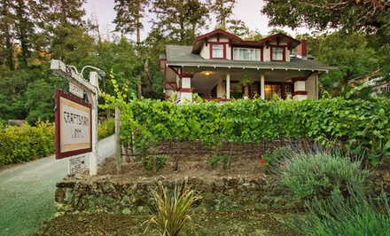 Groupon Deal: 1- or 2-Night Stay for Two with Wine-Tasting Passes at The Craftsman Inn in Calistoga, CA. Combine Up to 5 Nights.