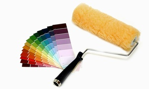 Crossfire Painting: Painting for One or Two Rooms from Crossfire Painting (Up to 77% Off)